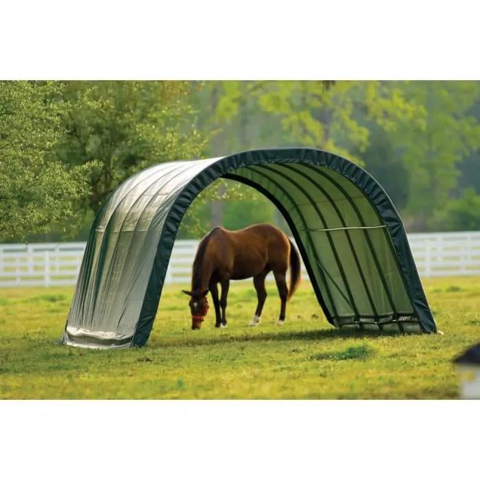 abri souple pour paturage vert shelter