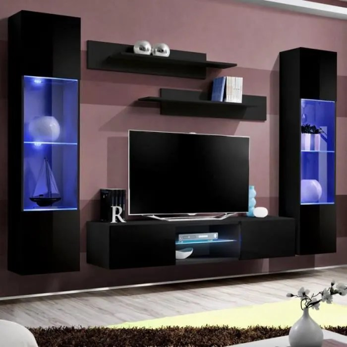 meuble tv mural design fly xxx 260cm