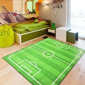 tapis enfant foot soldes cdiscount maison