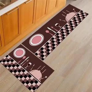 tapis de cuisine devant evier lavable