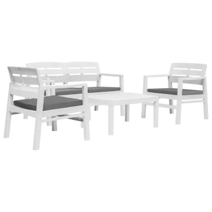 mobilier de jardin 1 table basse