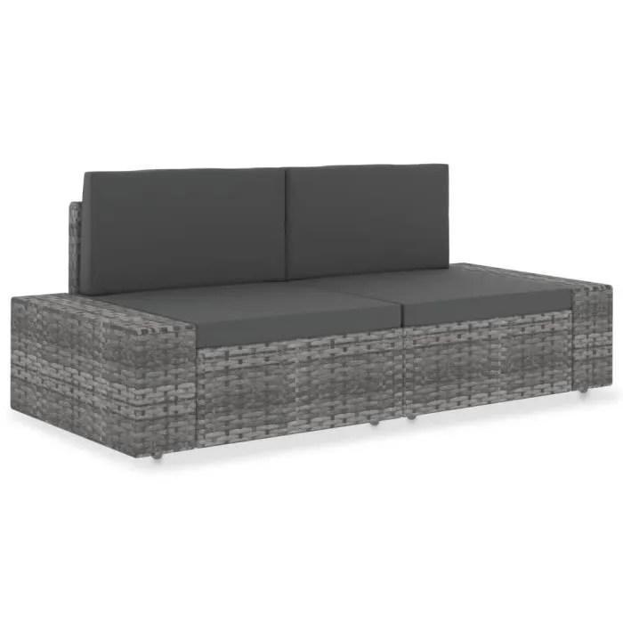 canape sectionnel 2 places meuble d exterieur so