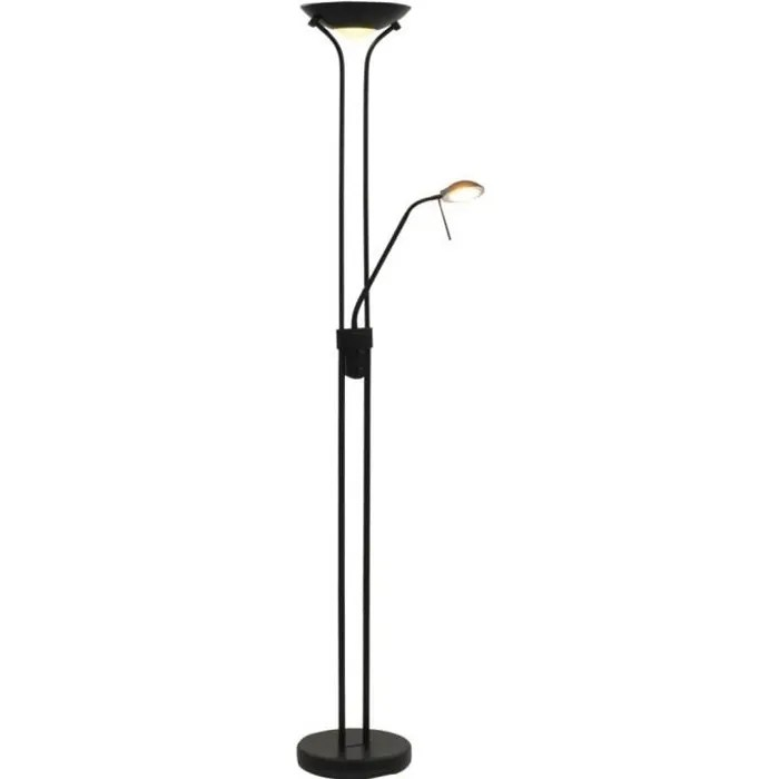 lampadaire salon sur pied a led variable 23 w
