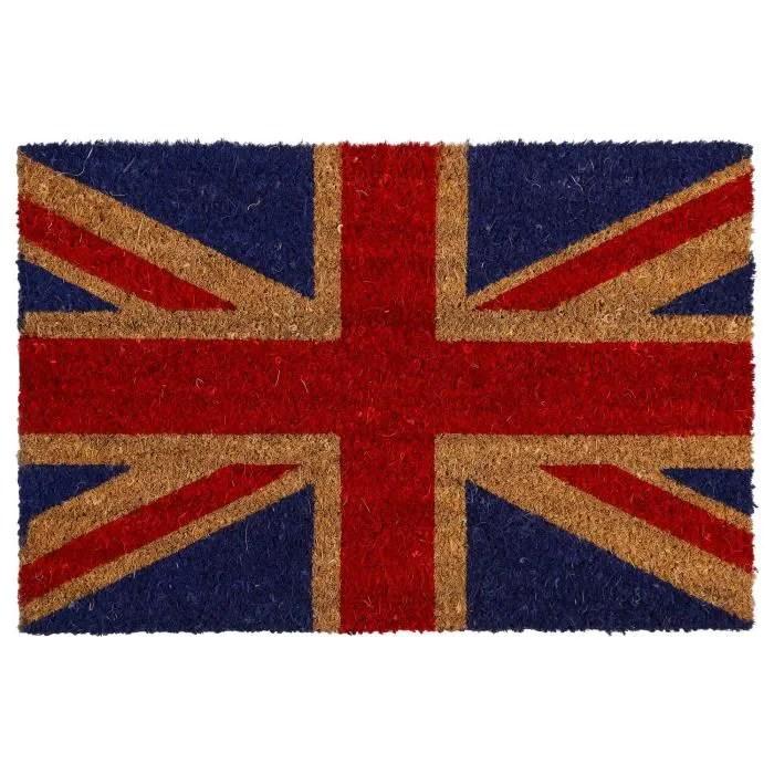 paillasson ville 60 x 40 cm drapeau