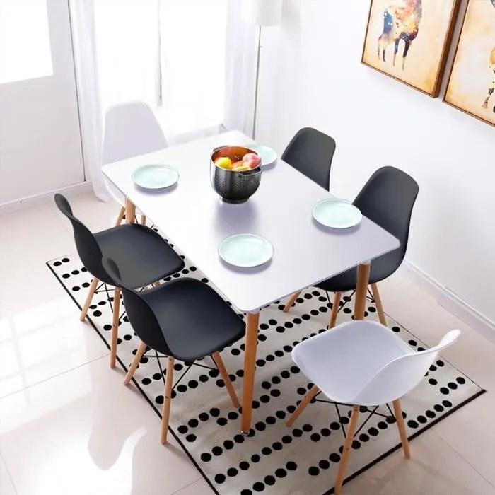 table cuisine 6 chaises