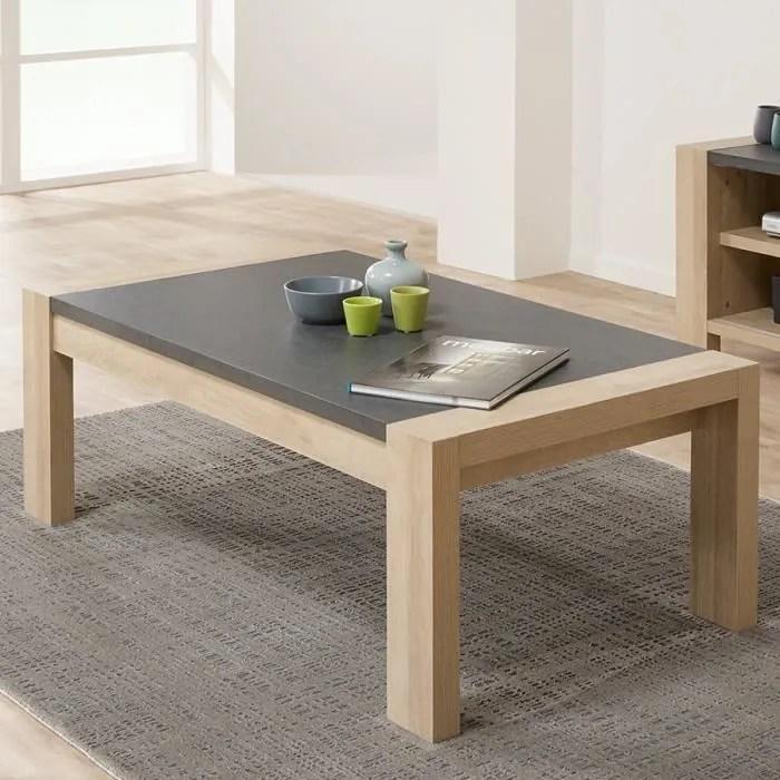 table de salon couleur bois clair et