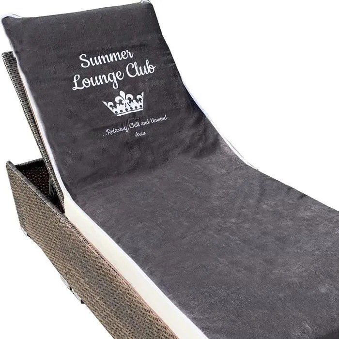 x 200 cm anthrazit lounge