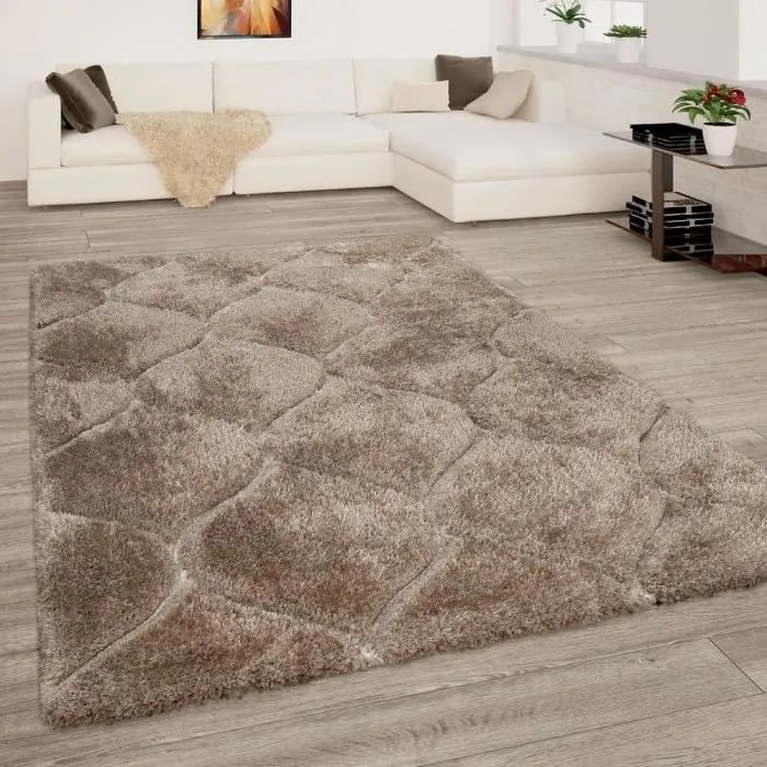 tapis beige marron