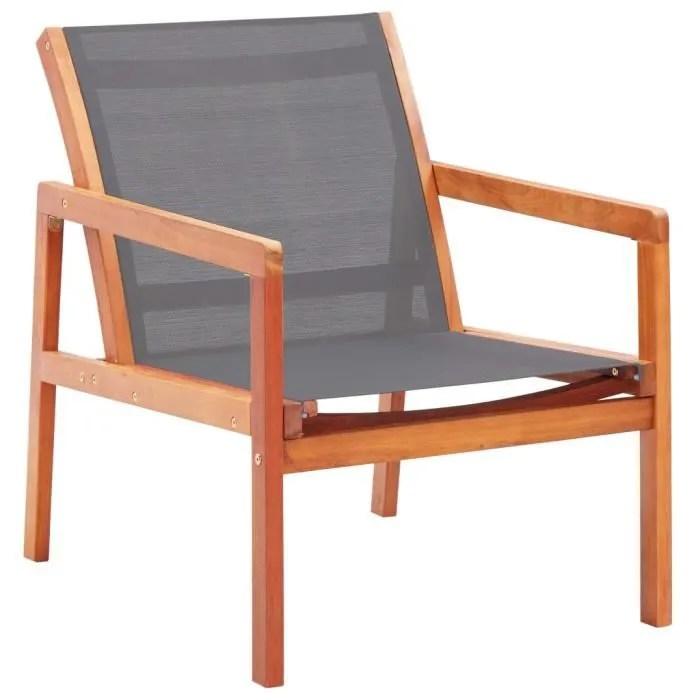 chaise de jardin en bois avec accoudoir
