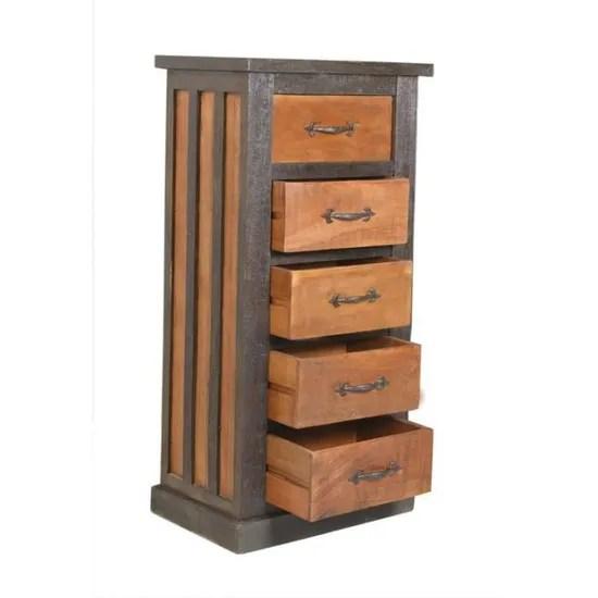 tiroirs bunk l 60 x l 40 x h 120 cm