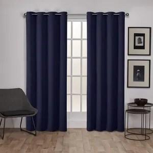rideau fil bleu achat vente rideau