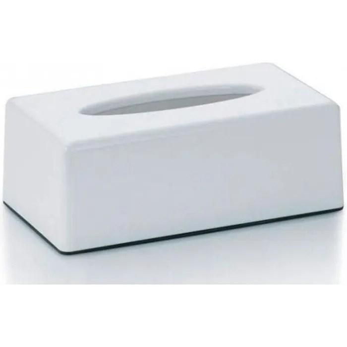 Boite A Mouchoirs Rectangulaire En Plastique Blanc 0 000000 Achat Vente Distributeur Mouchoir Soldes Sur Cdiscount Des Le 20 Janvier Cdiscount