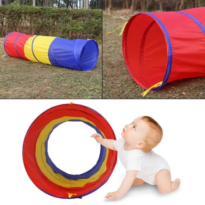tunnel de jeu pour bebe enfants de rampement de bebe pour exterieur d interieur