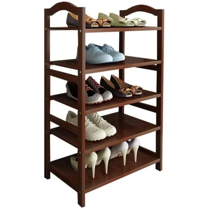 meuble a chaussures sous escalier