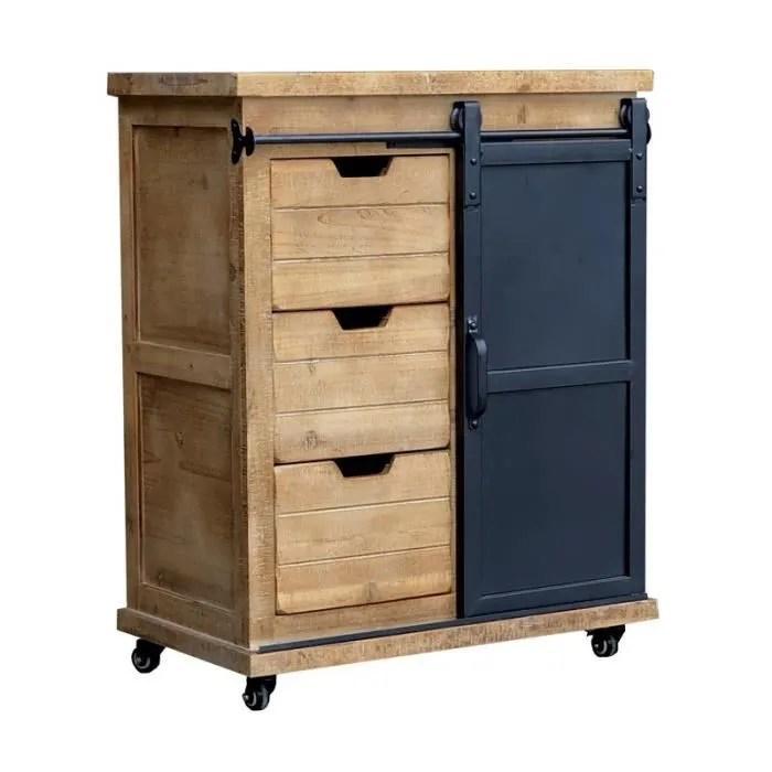 meuble industriel meuble de rangement bahut buffet