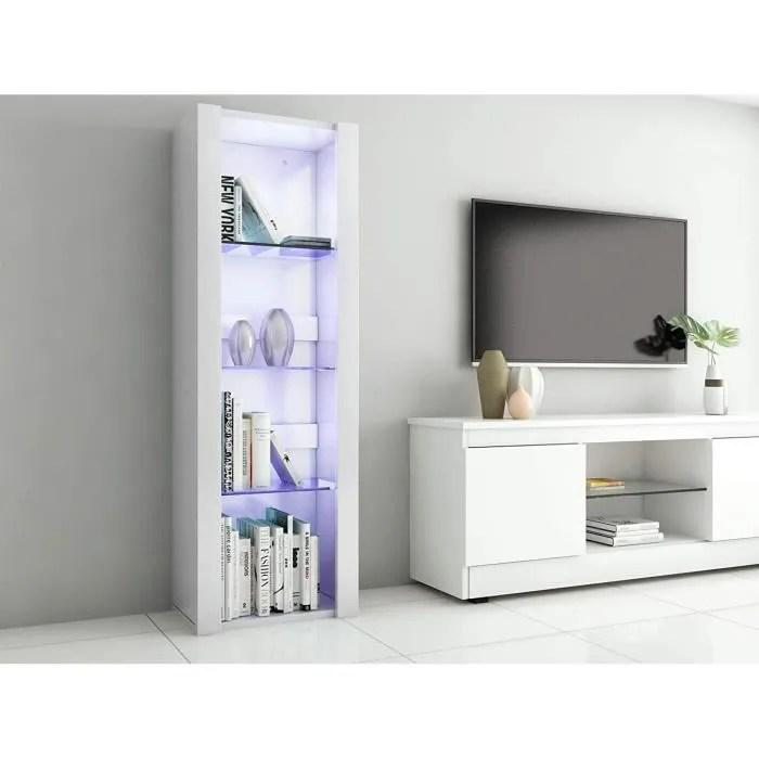 meuble de rangement mural blanc profondeur 35 cm