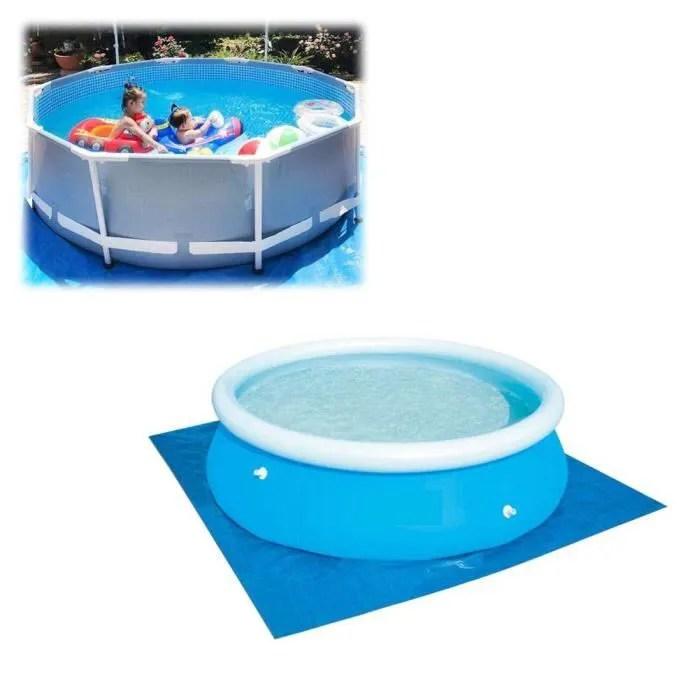 tapis sol piscine rond