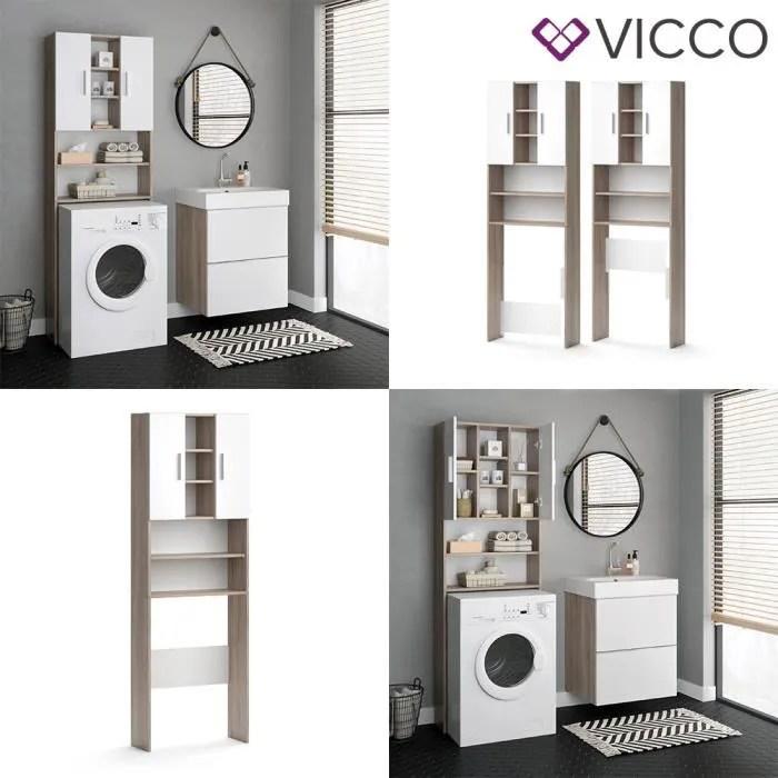 armoire pour machine a laver luis vicco armoire de salle de bains 190 x 64 cm machine a laver etagere de salle de bains