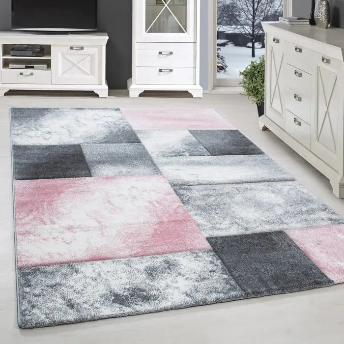 tapis design moderne salon contours coupe karting
