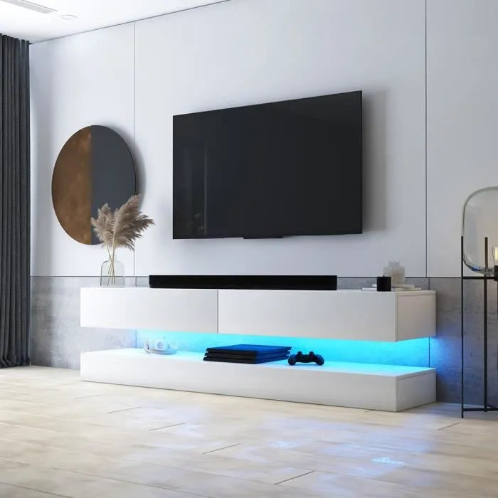 meuble tv meuble tv aviator 140 cm