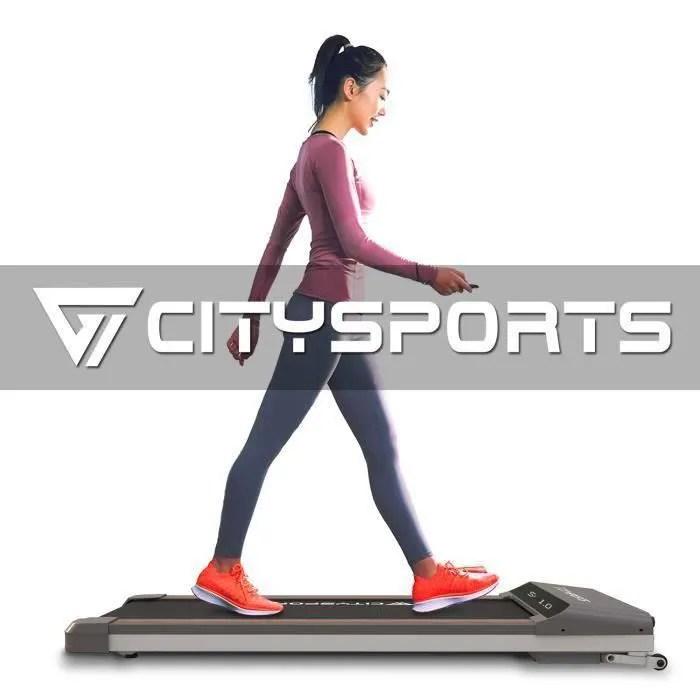 citysports tapis de course electrique pliable mot