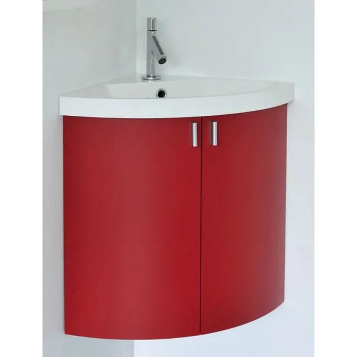 meuble lave mains d angle a suspendre