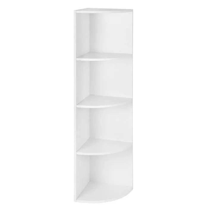 vasagle etagere d angle a 4 niveaux meuble de ra