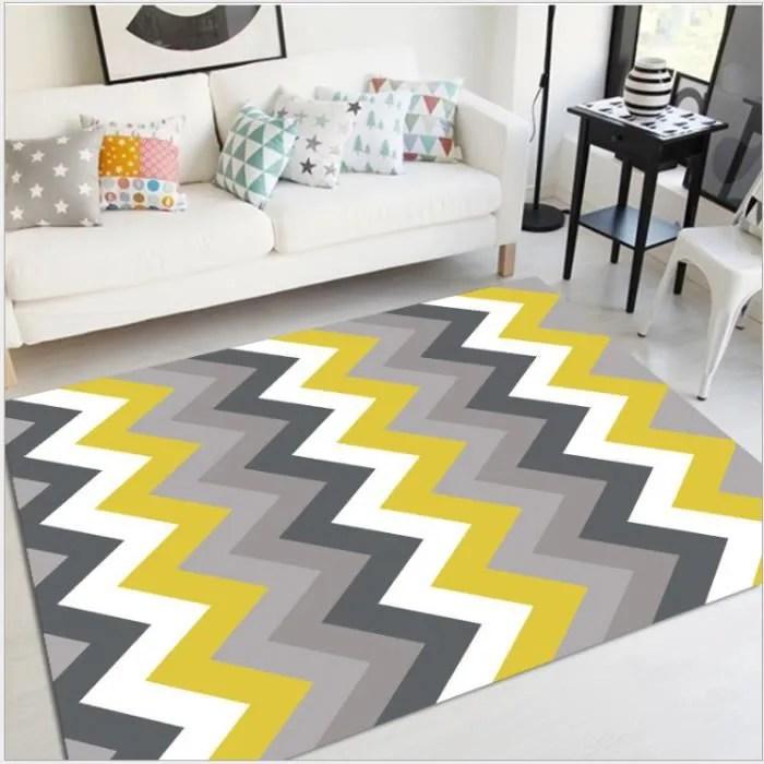 tapis de salon madrid style scandinave graphique 1
