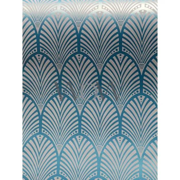 gatsby papier peint art deco teal holden decor 65253