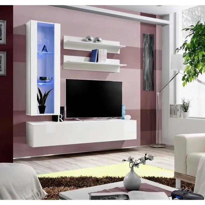 price factory meuble tv fly h2 design coloris b