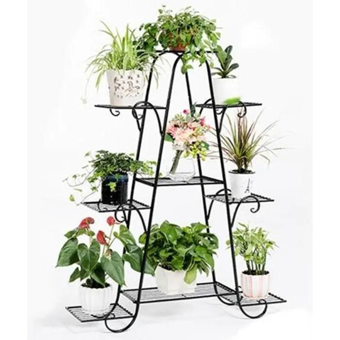 porte pot de plantes fleurs en fer forge