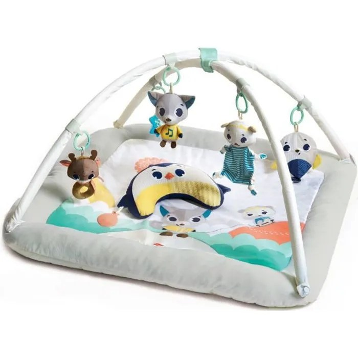 tiny love tapis ultra confort collection polaire