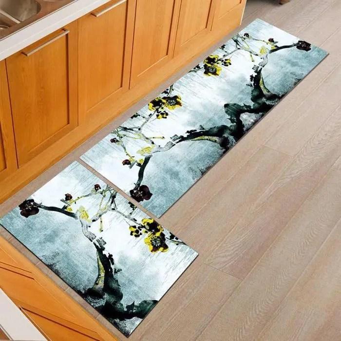 tapis de sol de cuisine super doux absorbant anti