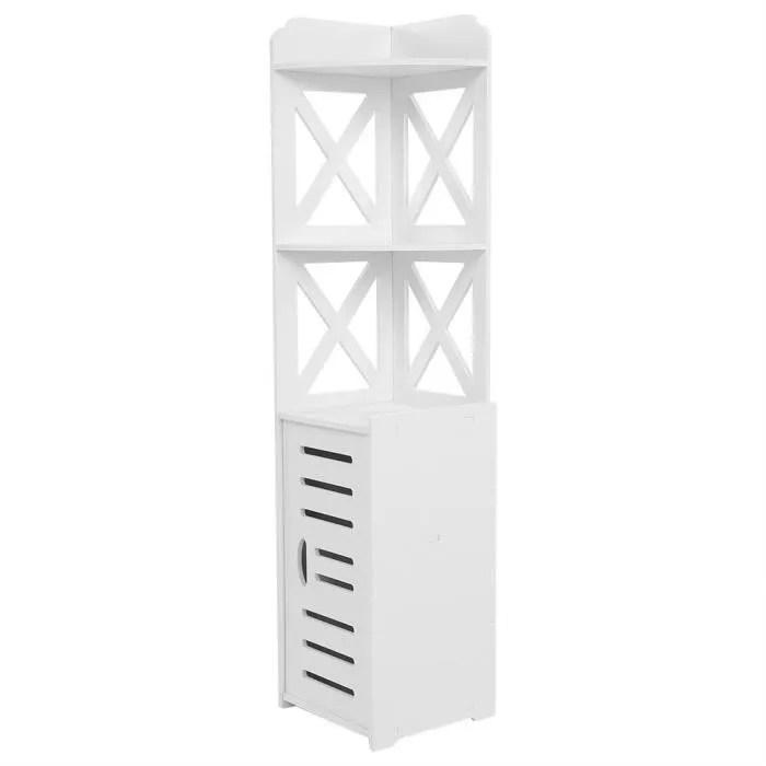 armoire de salle de bain meuble d angle panneau en plastique organisateur de rangement rack etagere meubles de maison fut