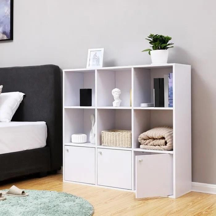 meuble 9 cases