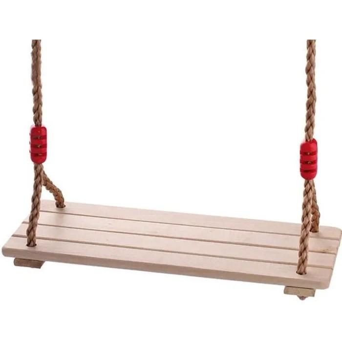 banc suspendu en bois balancoire suspendue de jardin d arbre