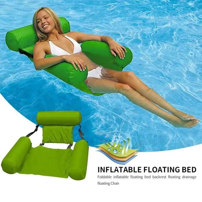 fauteuil de piscine gonflable adulte