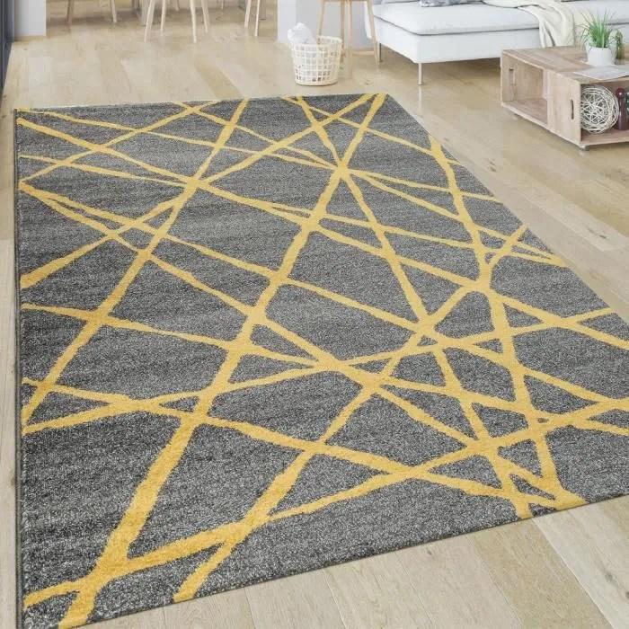 انقطع الاتصال ممل مقياس tapis gris et jaune