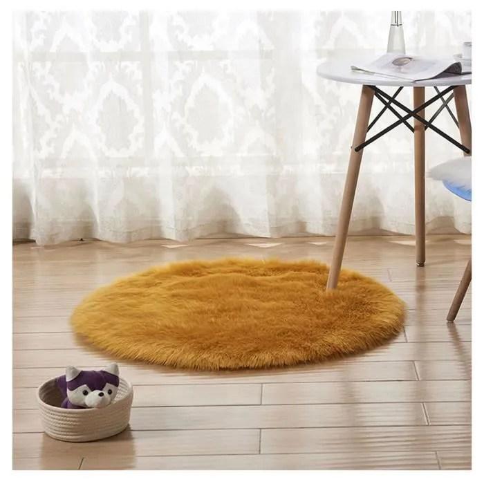 https www cdiscount com maison tapis tapis rond en fausse fourrure comme veritable lai f 11725 auc6115778159561 html