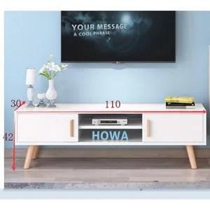 meuble tv de 110 cm