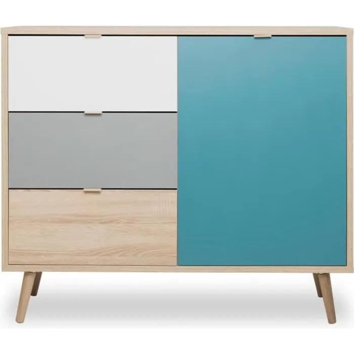 cuba meuble de rangement scandinave