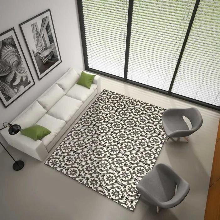 tapis bc carreau de ciment gris undefined 120 x 17