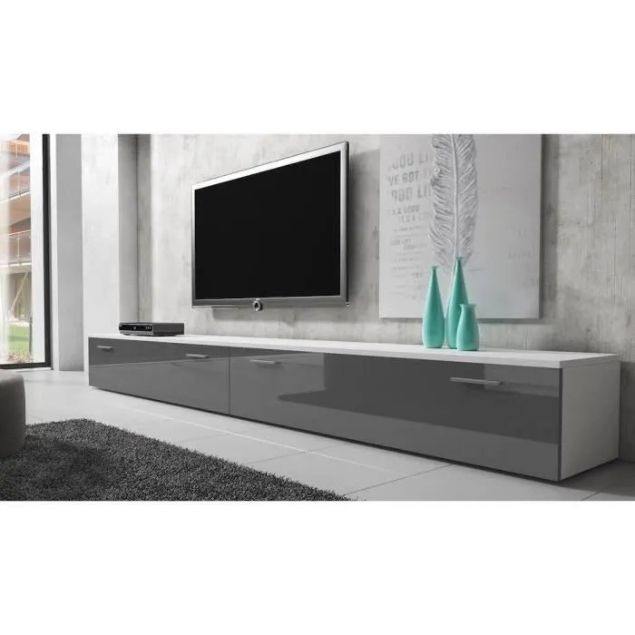 meuble tv 200 cm led