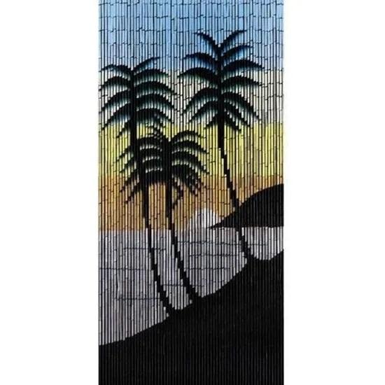 rideaux porte bambou mer du sud