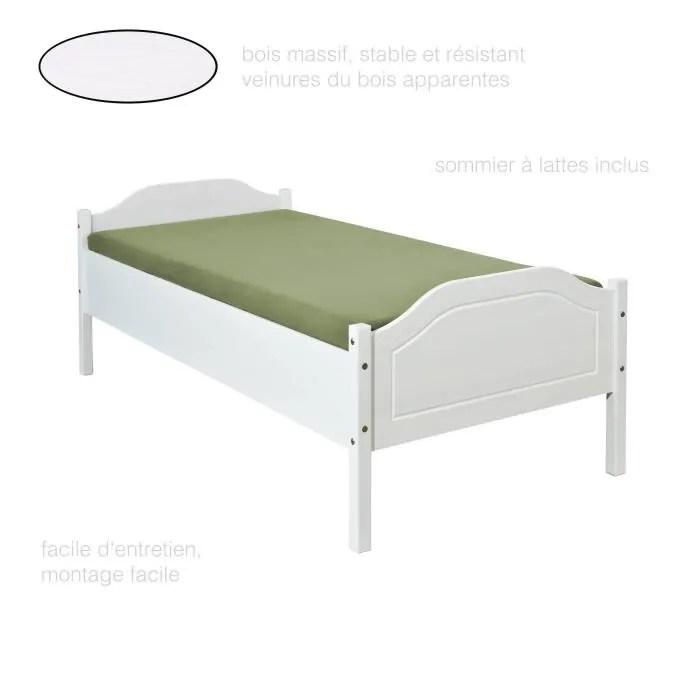 lit une place lit 90x200 cm lit 1
