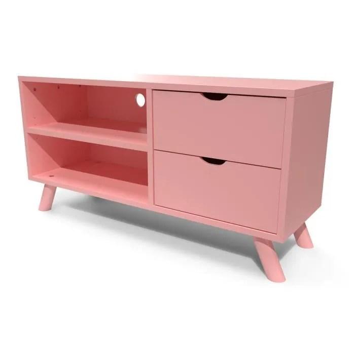 abc meubles meuble tv scandinave viking bois