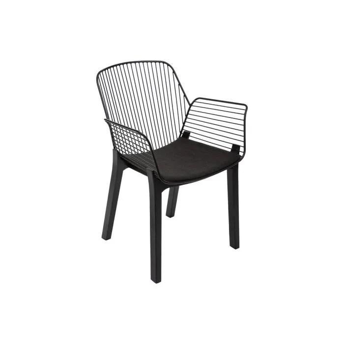 fauteuil fil alby en plastique bois atmosphe