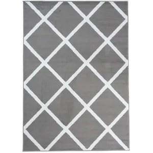 tapis de salon gris achat vente