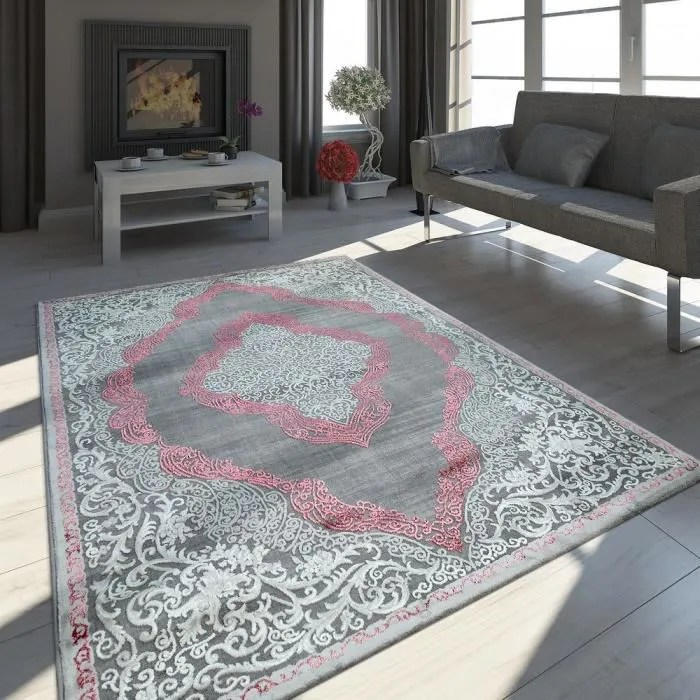 tapis oriental moderne effet 3d chine scintillant