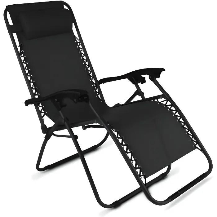chaise longue de jardin relax